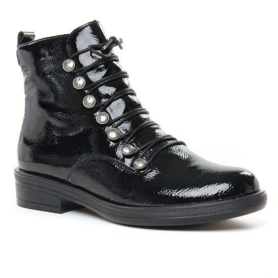 Bottines Et Boots Remonte R4974-01 Noir, vue principale de la chaussure femme