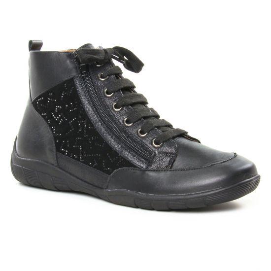Tennis Et Baskets Mode Sweet Bardo Noir, vue principale de la chaussure femme