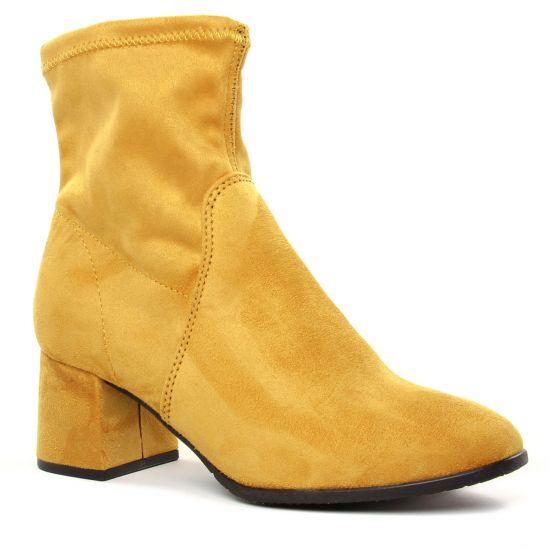 Bottines Et Boots Tamaris 25061 Mustard, vue principale de la chaussure femme