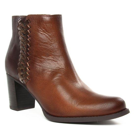 Bottines Et Boots Mamzelle Abori Cognac, vue principale de la chaussure femme