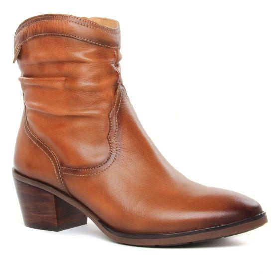 Bottines Et Boots Pikolinos Huelma W2Z-8552 Brandy Huelma W2Z , vue principale de la chaussure femme