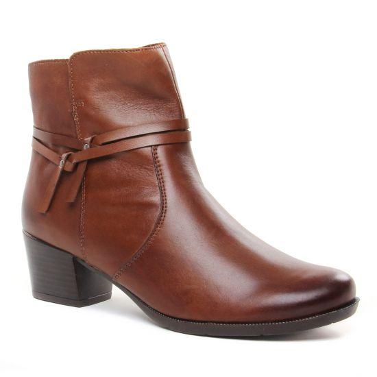 Bottines Et Boots Remonte R5675-22 Chestnut, vue principale de la chaussure femme