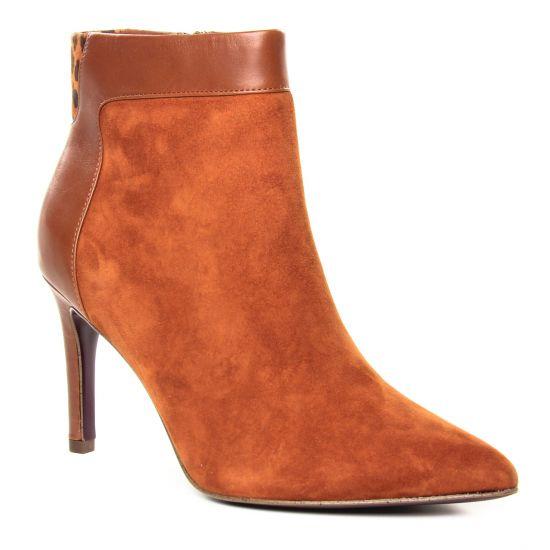 Bottines Et Boots Tamaris 25305 Cognac Leopard, vue principale de la chaussure femme