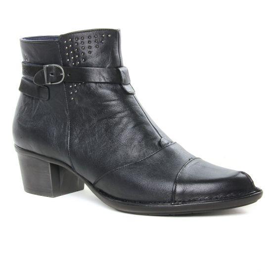 Bottines Et Boots Dorking Dalma D7371 Noir, vue principale de la chaussure femme