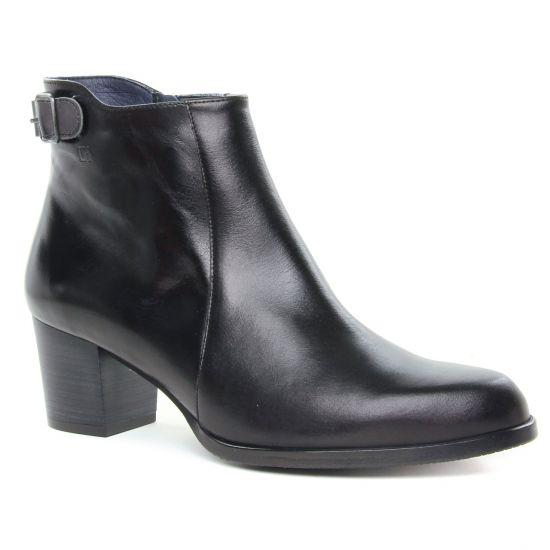 Bottines Et Boots Dorking Zuma D8026 Noir, vue principale de la chaussure femme