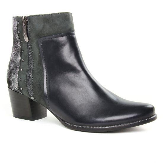 Bottines Et Boots Regarde Le Ciel Isabel 65 Black Metal, vue principale de la chaussure femme