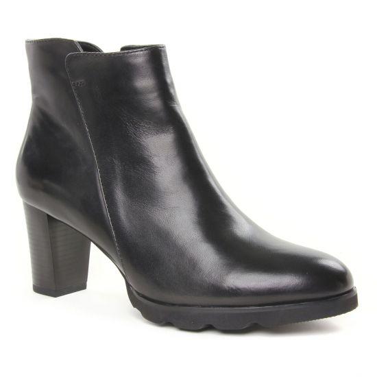 Bottines Et Boots Regarde Le Ciel Patricia 01 Noir, vue principale de la chaussure femme