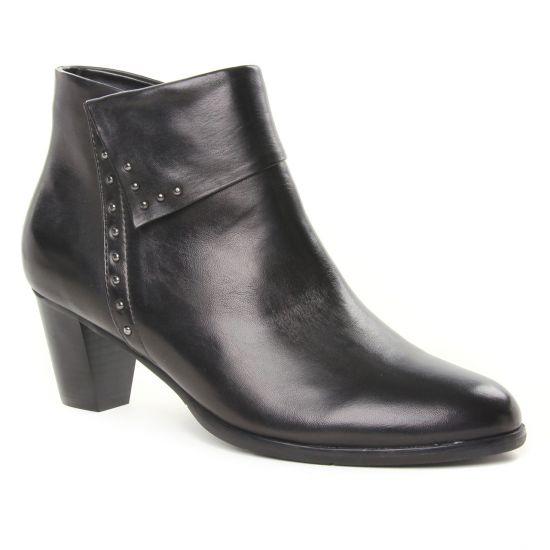 Bottines Et Boots Regarde Le Ciel Sonia 23 Noir, vue principale de la chaussure femme