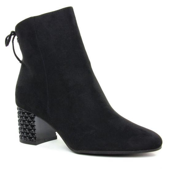 Bottines Et Boots Tamaris 25318 Black, vue principale de la chaussure femme