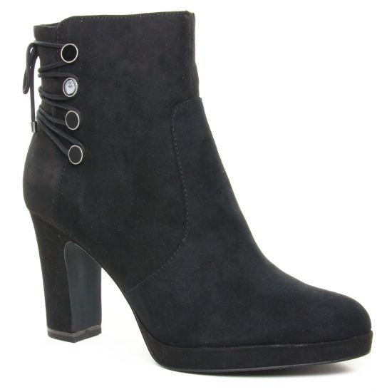 Bottines Et Boots Tamaris 25384 Black Uni, vue principale de la chaussure femme