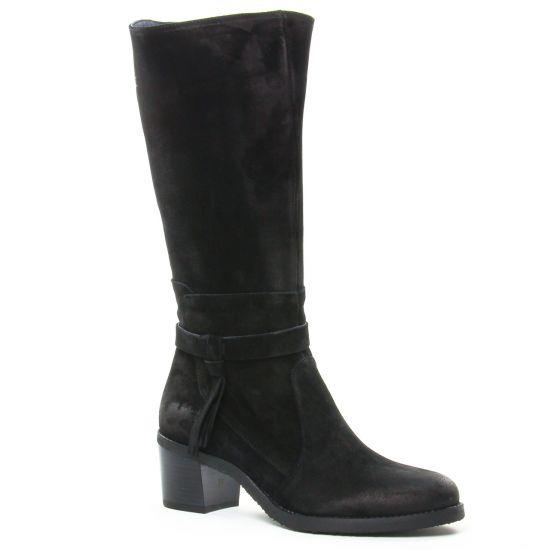 Bottes Dorking Ambra D8056 Negro, vue principale de la chaussure femme