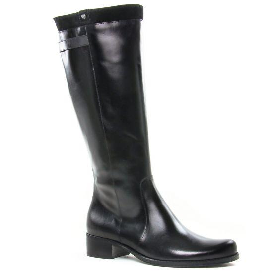 Bottes Dorking Dulce D8088 Negro, vue principale de la chaussure femme