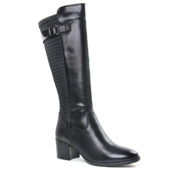 Bottes Tamaris 25538 Black, vue principale de la chaussure femme