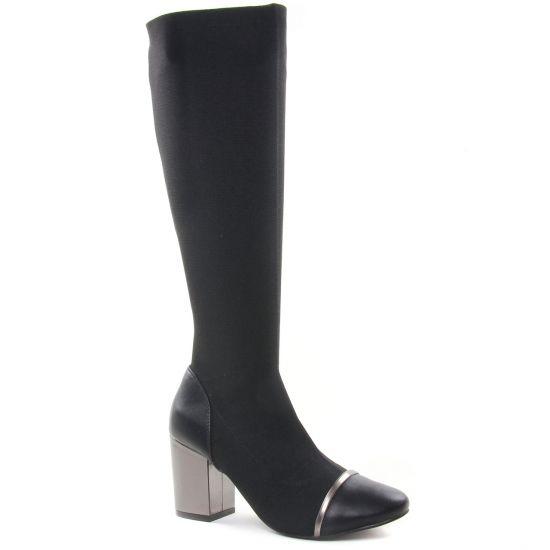 Bottes Gioseppo 56685 Noir, vue principale de la chaussure femme