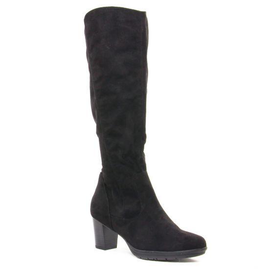 Bottes Marco Tozzi 25513 Black, vue principale de la chaussure femme