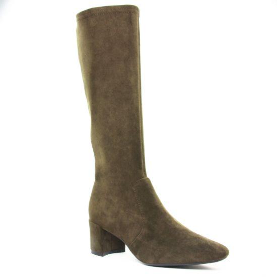 Bottes Fugitive Doval Kaki, vue principale de la chaussure femme