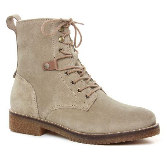 Bottines Et Boots Tamaris 25249 Taupe, vue principale de la chaussure femme