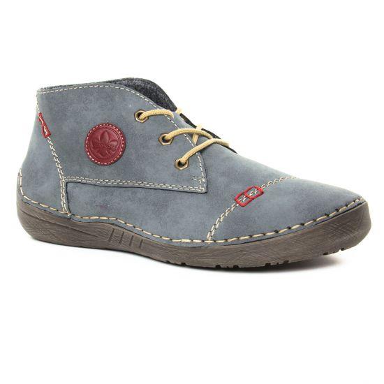 Bottines Et Boots Rieker 52540-14 Jean, vue principale de la chaussure femme