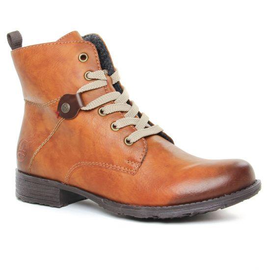 Bottines Et Boots Rieker 70842-22 Cayenne, vue principale de la chaussure femme