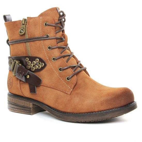 Bottines Et Boots Rieker 93213-24 Moro, vue principale de la chaussure femme