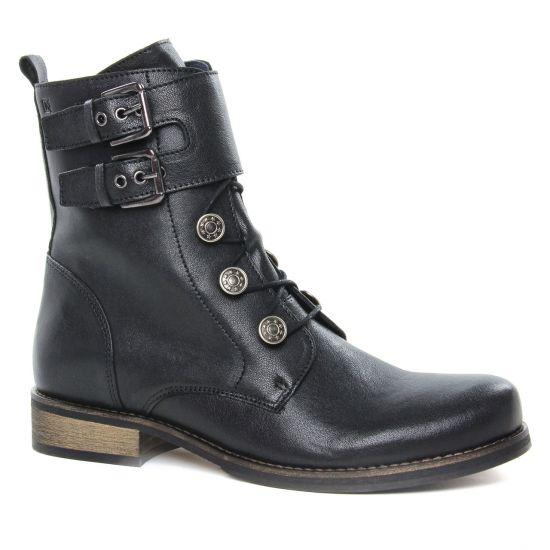 Bottines Et Boots Dorking Vera D8070 Noir, vue principale de la chaussure femme