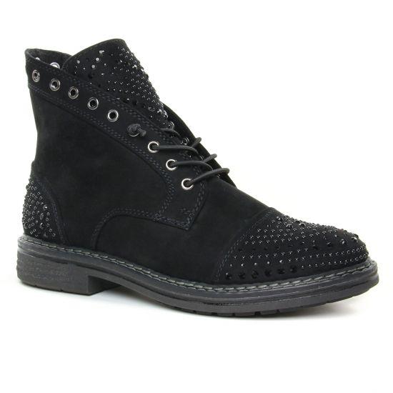 Bottines Et Boots Marco Tozzi 25206 Black, vue principale de la chaussure femme