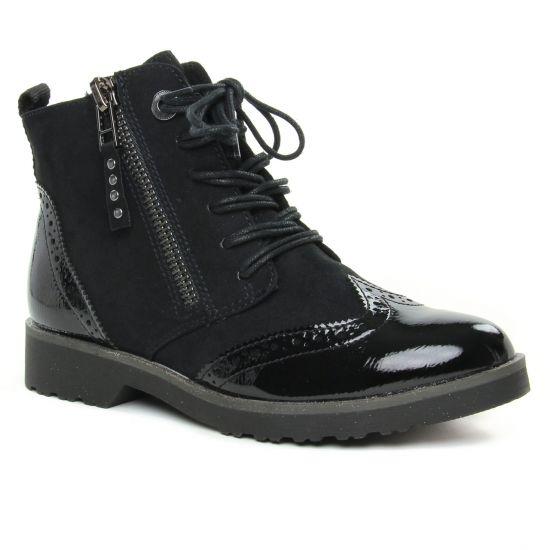 Bottines Et Boots Marco Tozzi 25270 Black Comb, vue principale de la chaussure femme