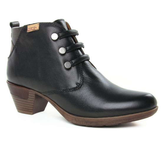 Bottines Et Boots Pikolinos Rotterdam 902-8746 Black, vue principale de la chaussure femme