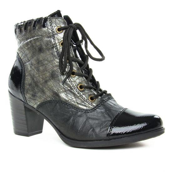 Bottines Et Boots Rieker Y8938-00 Black, vue principale de la chaussure femme