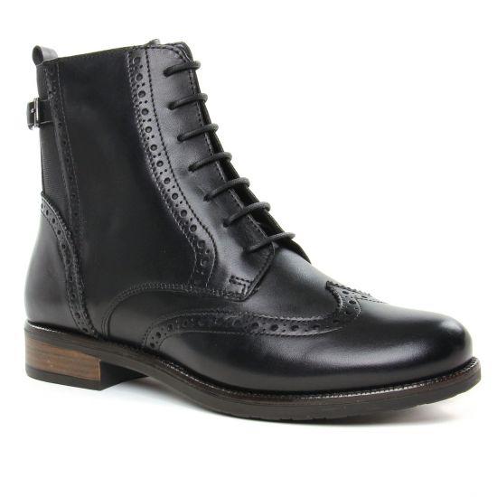 Bottines Et Boots Tamaris 25117 Black, vue principale de la chaussure femme