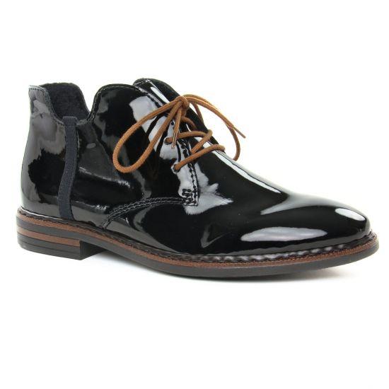 Bottines Et Boots Rieker 50634-01 Noir, vue principale de la chaussure femme