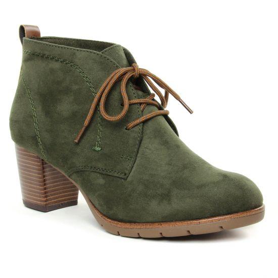 Bottines Et Boots Marco Tozzi 25107 Khaki Comb, vue principale de la chaussure femme