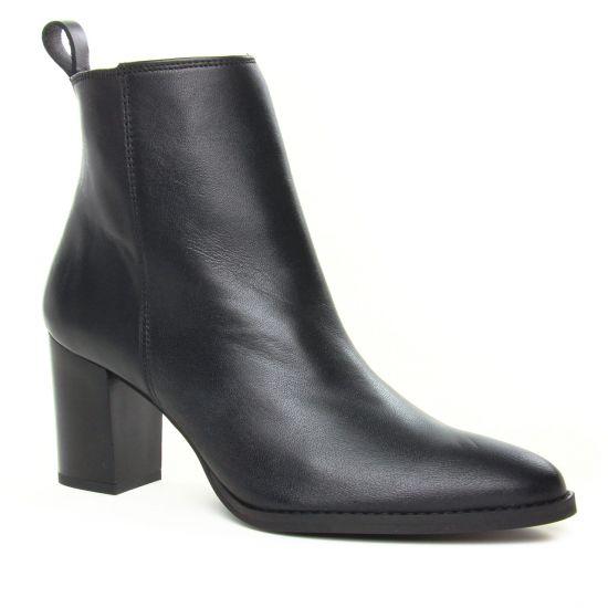 Bottines Et Boots Scarlatine Flint Noir, vue principale de la chaussure femme