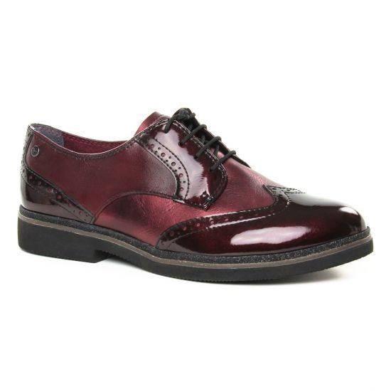 Chaussures À Lacets Tamaris 23711 Bordeaux Comb, vue principale de la chaussure femme