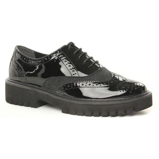 Chaussures À Lacets Tamaris 23706 Black Comb, vue principale de la chaussure femme