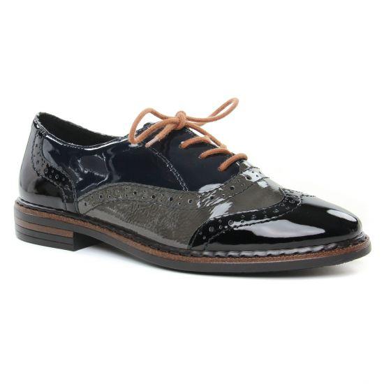Chaussures À Lacets Rieker 50603-00 Schwarz, vue principale de la chaussure femme