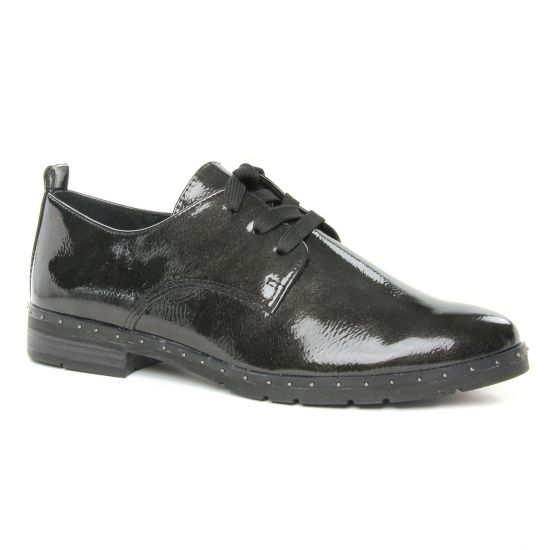 Chaussures À Lacets Marco Tozzi 23201 Dk Grey Pat, vue principale de la chaussure femme