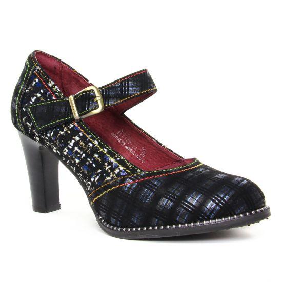 Escarpins Laura Vita Alcbaneo 02 Bleu, vue principale de la chaussure femme