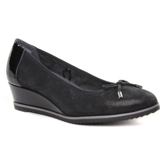 Ballerines Tamaris 22303 Black, vue principale de la chaussure femme