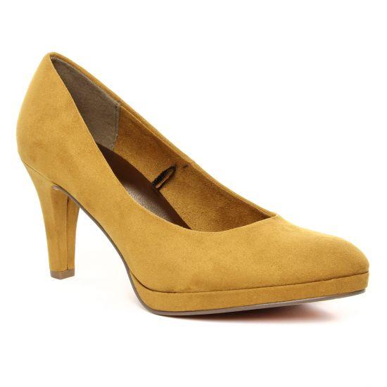 Escarpins Marco Tozzi 22428 Mustard, vue principale de la chaussure femme
