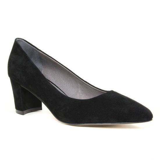 Escarpins Fugitive Pamier Noir, vue principale de la chaussure femme