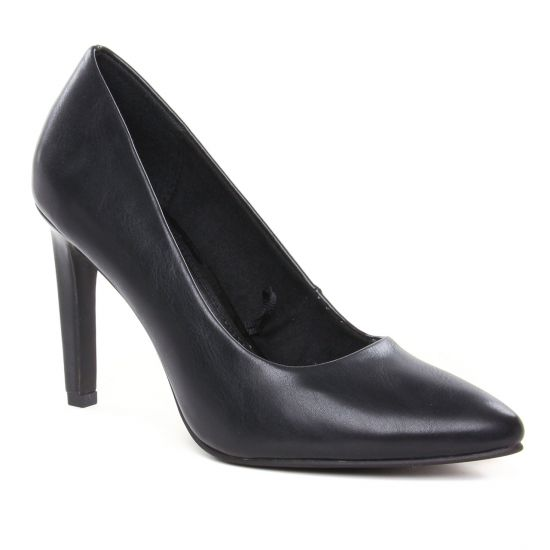 Escarpins Marco Tozzi 22453 Black Nappa, vue principale de la chaussure femme