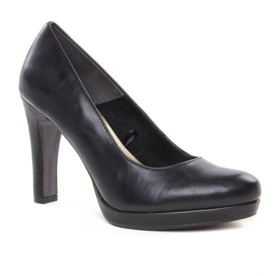 Escarpins Tamaris 22426 Black Matt, vue principale de la chaussure femme