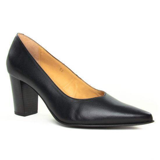 Escarpins Scarlatine Sylvie Noir, vue principale de la chaussure femme