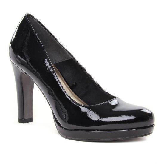 Escarpins Tamaris 22426 Black Patent, vue principale de la chaussure femme
