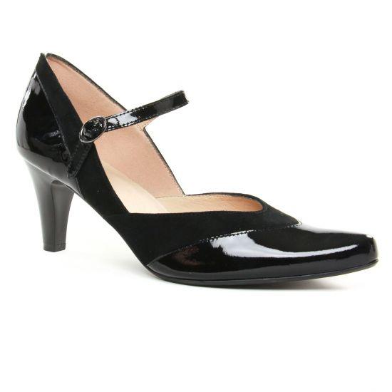 Escarpins Sweet Gliapo Noir, vue principale de la chaussure femme