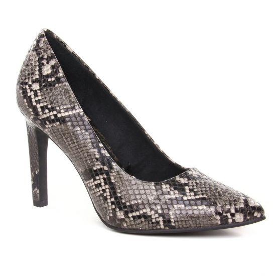 Escarpins Marco Tozzi 22453 Dk Grey Str, vue principale de la chaussure femme