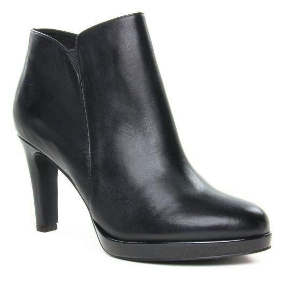 Bottines Et Boots Tamaris 25386 Black Patent, vue principale de la chaussure femme