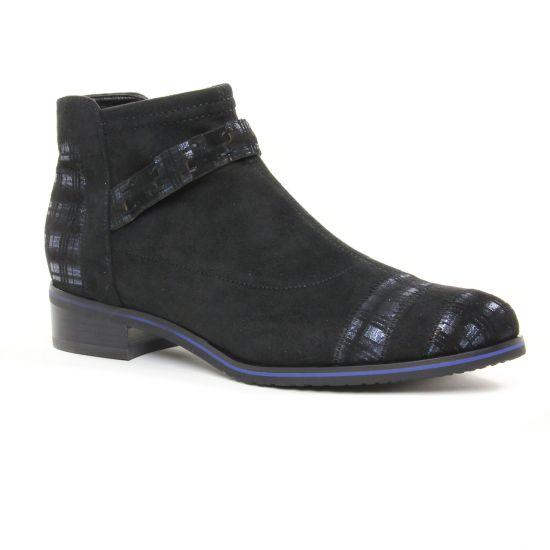 Bottines Et Boots Fugitive Veto Noir, vue principale de la chaussure femme