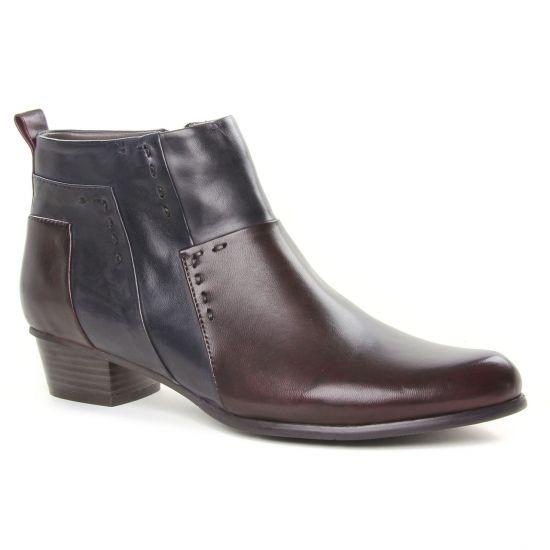 Bottines Et Boots Regarde Le Ciel Stefany 127 Sangria, vue principale de la chaussure femme